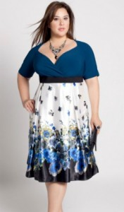 Plus Size Pretty Date Night Dress
